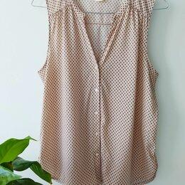 Блузки и кофточки - Блузка h&m размер 44, S. Легкая без рукавов, 0