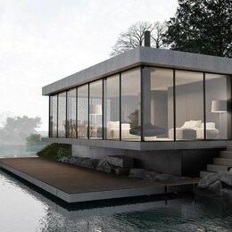 Готовые строения - Модульный дом с панорамными окнами, 0