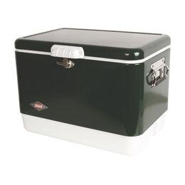 Сумки-холодильники и аксессуары - Изотермический контейнер COLEMAN 54QT STEEL GREEN, 0