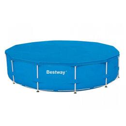 Тенты и подстилки - Тент для каркасного бассейна BestWay 58039 BW, 0