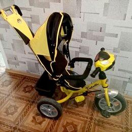 Трехколесные велосипеды - Велосипед Capella трехколесный желтый, 0