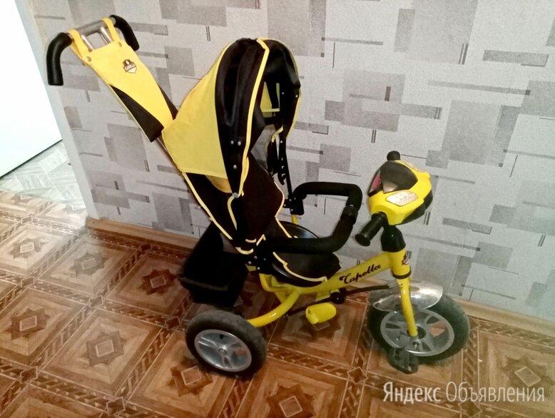 Велосипед Capella трехколесный желтый по цене 4000₽ - Трехколесные велосипеды, фото 0