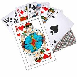 Настольные игры - Карты игральные с пластиковым покрытием 36 карт, 0