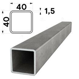 Металлопрокат - Труба профильная 40х40мм стенка 1,5мм длина 6 метров, 0