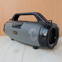 Акустические системы - Bluetooth бумбокс, FM радио, караоке, 0