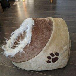 Лежаки, домики, спальные места - Домик-норка для собак и кошек , 0