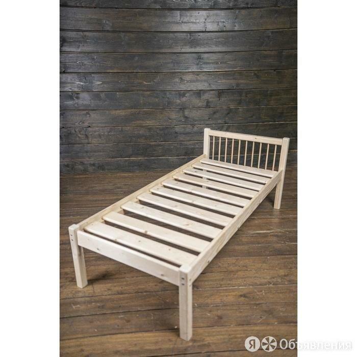 Детская кровать «Герда», 700 × 1900 мм, массив сосны по цене 8336₽ - Кровати, фото 0