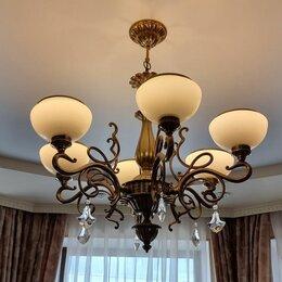 Люстры и потолочные светильники - Подвесная люстра ,бра, 0