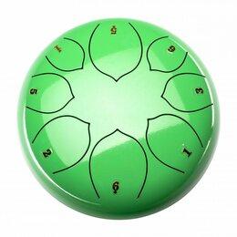 Ударные установки и инструменты - Foix FTD-108F-GR Глюкофон, 25см, Фа мажор, зеленый, 0