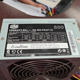 Блоки питания - Блок питания для ПК Cooler Master Elite Power 500W (RS-500-PSAP-J3) , 0