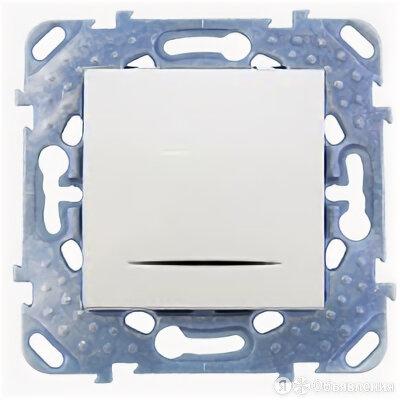 unica двухполюсный выключатель одноклавишный 16a с контр. ламп белый mgu5.262... по цене 1651₽ - Электроустановочные изделия, фото 0