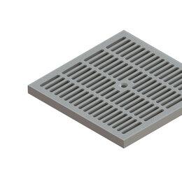 Заборчики, сетки и бордюрные ленты - Standartpark Решетка PolyMax Basic РВ-28.28-ПП ячеистая серый 3380-С, 0
