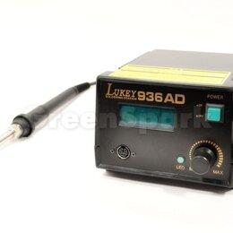 Электрические паяльники - Паяльная станция Lukey 936AD, 0