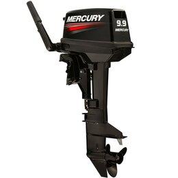 Двигатель и комплектующие  - 2х-тактный лодочный мотор Mercury ME 9.9 MLH - 169CC, 0