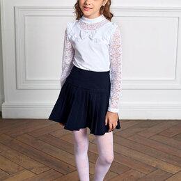Комплекты и форма - Блузка белая школьная для девочки СЖ-Станислава, 0