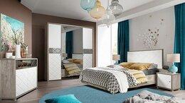 Кровати - Спальня Кристал КМК. Комплект 1, 0