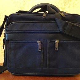 Сумки - Мужская сумка наплечная деловая, 0