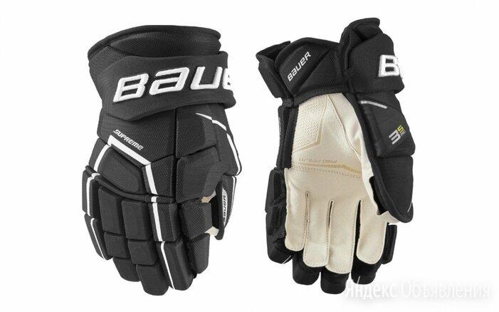 Хоккейные перчатки BAUER Supreme 3S S21 INT по цене 10490₽ - Защита и экипировка, фото 0