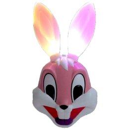 Защита и экипировка - Маска зайца светящаяся, 0
