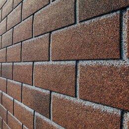 Фасадные панели - Фасадная плитка Hauberk Хауберк Красный Кирпич, 0