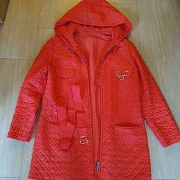 Куртки - Куртка с капюшоном демисезонная р 44 рост 164 ГДР, 0