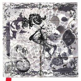 Головные уборы - Платок женский в серых тонах CRISTIAN LACROIX 28839, 0