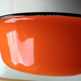 Миски и дуршлаги - Железная миска советская оранжевая, 0