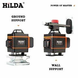 Измерительные инструменты и приборы - Лазерный уровень 4d 16линий 360° HILDA, 0