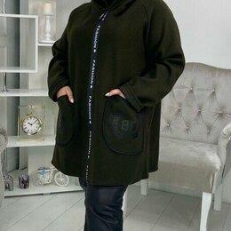 Пальто - Женское кашемировое пальто большого размера р-ры 60-70, 0