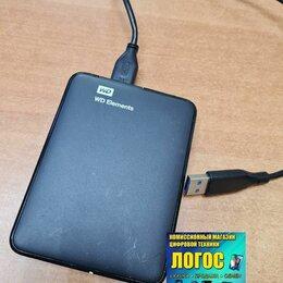 Внешние жесткие диски и SSD - Внешний диск HDD WD Elements 500 Gb, 0