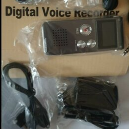 Цифровые плееры - Диктофон mp3 плеер 8 ГБ новый, 0