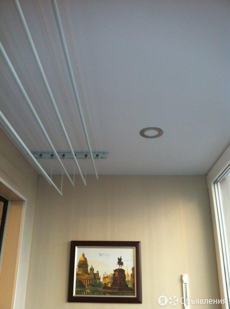 Натяжные потолки по цене 350₽ - Потолки и комплектующие, фото 0