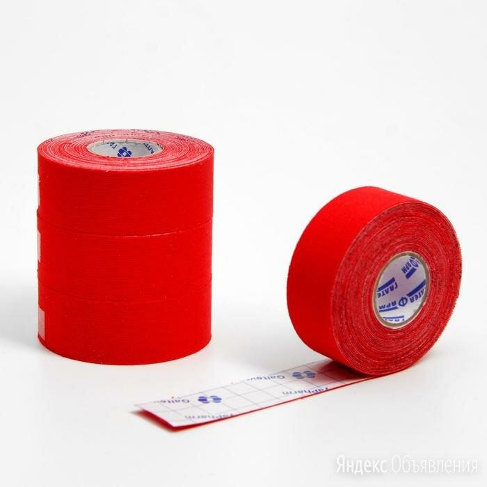 Кинезиологический тейп спортивный 2.5 см* 5м,красный №4 по цене 1330₽ - Развлекательное оборудование, фото 0