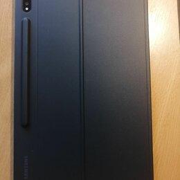 Чехлы для планшетов - Оригинальный чехол-клавиатура для Samsung Galaxy Tab S7+ (SM-T970, SM-T975), 0
