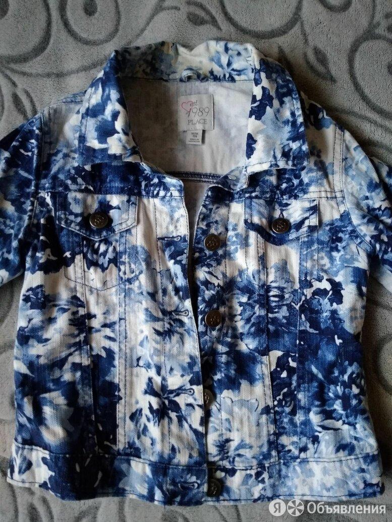 Фирменная джинсовая куртка Place 7/8 лет по цене 1500₽ - Куртки и пуховики, фото 0