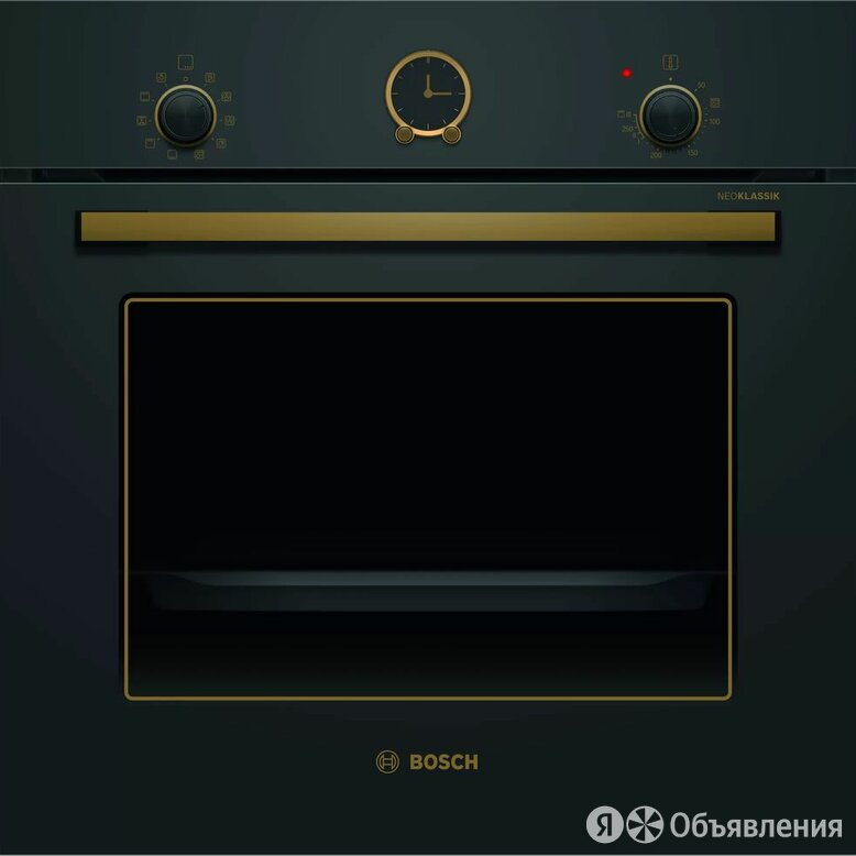 Электрический духовой шкаф BOSCH HBJN 10YB0R по цене 39990₽ - Духовые шкафы, фото 0