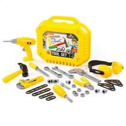 Детские наборы инструментов - Полесье Набор инструментов №20 в чемоданчике, 32 элемента, 0