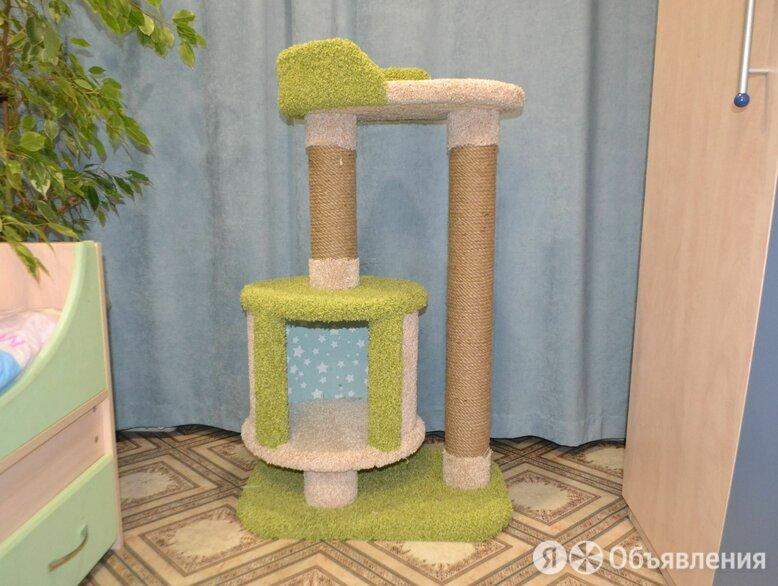 Кошачий домик когтеточка по цене 1400₽ - Когтеточки и комплексы , фото 0