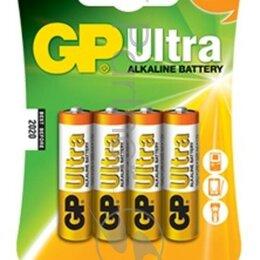 Батарейки - Батарея Gp Ultra Alkaline 15au Lr6 Aa  4шт, 0