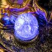 Фонтан настольный полистоун 220В 'Будда у скалы с чашами' 30х21х21 см по цене 3392₽ - Декоративные фонтаны и панели, фото 3