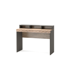 Столы и столики - ДЕЛИ 74 Стол туалетный (дуб эндгрейн/антрацит), 0