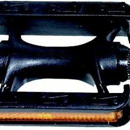 Развивающие игрушки - Педали велосипедные пластиковые с отражателями детские черные 5-311028 , 0