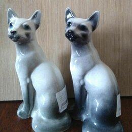 Статуэтки и фигурки - Статуэтка фарфоровая Кошка фигурка интерьер , 0