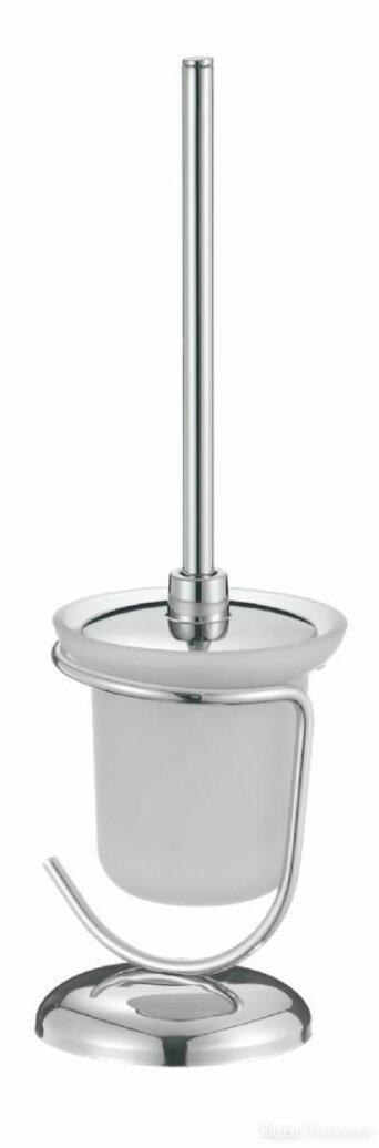 Туалетный ёршик напольный, стекл. на подставке S-002093 по цене 950₽ - Ершики, фото 0