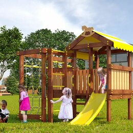 Игровые и спортивные комплексы и горки - Детская площадка Савушка Baby play 1, 0