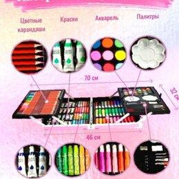 Рисование - Набор для рисования с красками в алюминиевом кейсе 145 предметов, 0