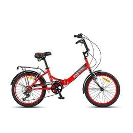 Велосипеды - Велосипед MaxxPro compact 20S Y20S-4 красно/черн, 0