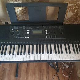 Клавишные инструменты - Продаётся Синтезатор Yamaha PSR-E343 на стойке, 0