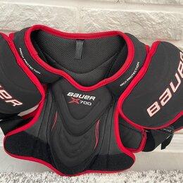 Защита и экипировка - Нагрудник хоккейный bauer x700, 0