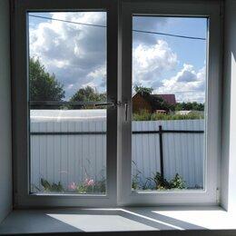 Окна - Окно пластик бу 1470×1470 с маски ной сеткой 4500руб, 0